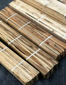 1m2 reclaimed rustic pallet wood timber panels