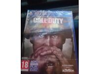 Ps4 Call Of Duty WW2 (Brand new)