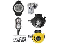 Apeks Atx40 Din Atx Octo DIN Stage Regulator Set