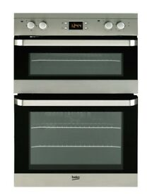 BNIB Beko ODF22300X Built-in Double Oven in Stainless Steel