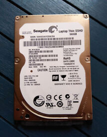 "Tested 100% working Seagate Slim SSHD 500GB Internal 2.5"" laptop from Macbook"