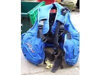 Diving Equipment ~ Blue Sea Quest Dive Stab / Buoyancy Jacket