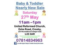 Baby And Toddler Nearly New Sale Crosby