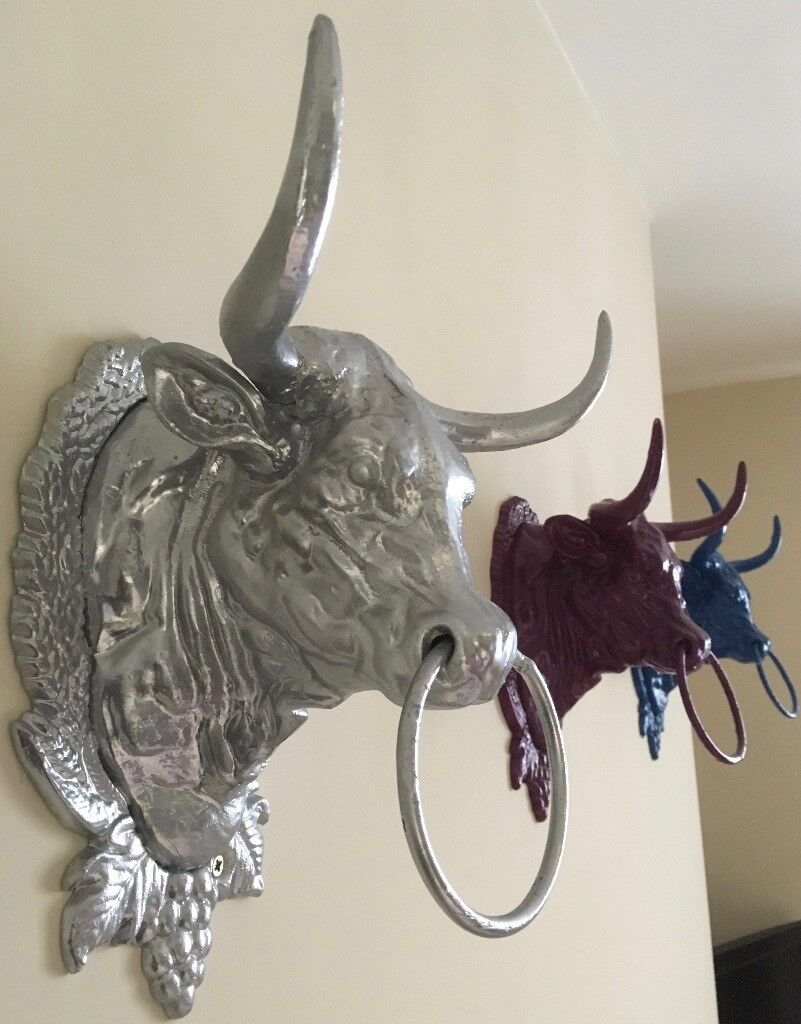 Bull Head Wall Decor Cast Iron Bulls Head Wall Decor In Bridport Dors On Bull Horns Texas Antlers Animal Head Aluminium Hurn Hu