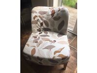 Two stylish easy chairs for sale