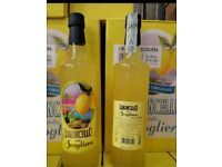 Italian Limoncello. Original Lemon Liqueur