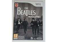 Wii Game The Beatles Rockband