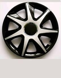 Wheel trims 4 x 16inch to fit ford galaxy, ka and street ka