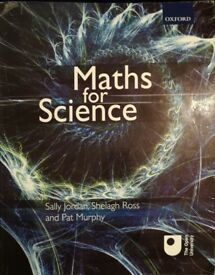 Maths for science by Sally jordan, Shelagh Ross and Pat Murphy