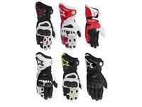 Race gloves motorcycle alpinestars gp pro gloves