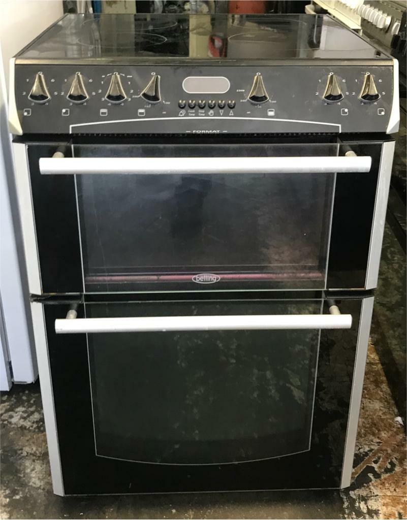 Belling Ceramic Electric Cooker 60 Cm Very Good Condition Nice Collection Ovens Single Lamona Conventional Oven
