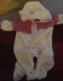 Winnie the Pooh baby outfit 3-6 months