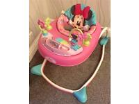 Minnie Mouse Baby Walker RRP £50 - Hardly used