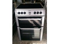 6 MONTHS WARRANTY Beko AA energy rated, double ovne electric cooker FREE DELIVERY