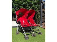 Maclaren Triumph Double Pushchair/Stroller