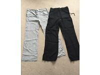 Linen trousers Size 10