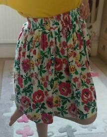 Joules girls skirt