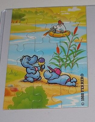 """Puzzle """"Happi Hippos"""" Oben Rechts"""