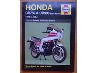 Haynes Honda (CB750 & CB900) Owners Workshop Manual