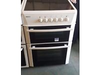White 60cm ceramic cooker perfect working order and in good condition excellent cooker very clean
