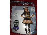 Sassy Spots Girls' Age 8-10 Costume (Like Clawdeen Wolf), Unworn, Unwanted Gift, £10 o.n.o. Blantyre