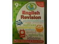 English Revision workbook for children 9+
