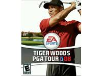 Sony psp tiger Woods pga tour 08