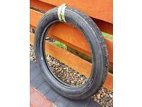 """""""Classic"""" NOS Avon Speedmaster MKII Front Motorbike Tyre 3.50H18"""