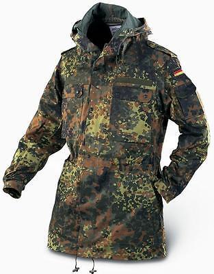Brand New Quality Hunt Fleck Camo - German Military Surplus Parka 8595/1015 XL
