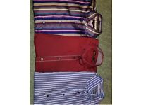 Selection of branded Men's shirts size small/medium