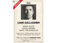Liam gallagher tickets x 2 Finsbury Park London