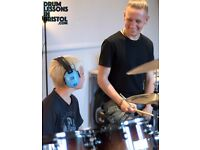 Drum Lessons in Bristol– Free Trial! Flexible Learning, Flexible Prices