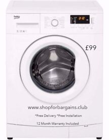 Reconditioned Washing Machines from £99