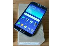 Samsung Galaxy s4 factory unlocked in excellent condition boxed.