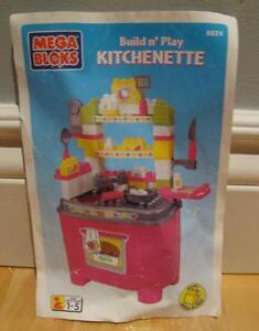 Mega Bloks Build and Play Kitchenette……LIKE NEW!!! 60 pieces West Island Greater Montréal image 1