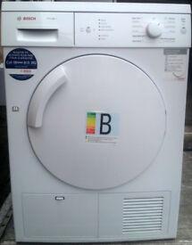7kg load, BOSCH Classixx-7 WTE84105GB Condenser Tumble Dryer For Sale