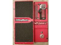 Digitech Whammy 4V Guitar Pedal. True bypass mod.