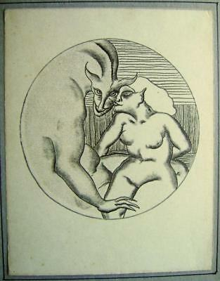 EROTICA A SMALL SERIES ENGLISH SCHOOL THE INCUBUS  1940/50S'