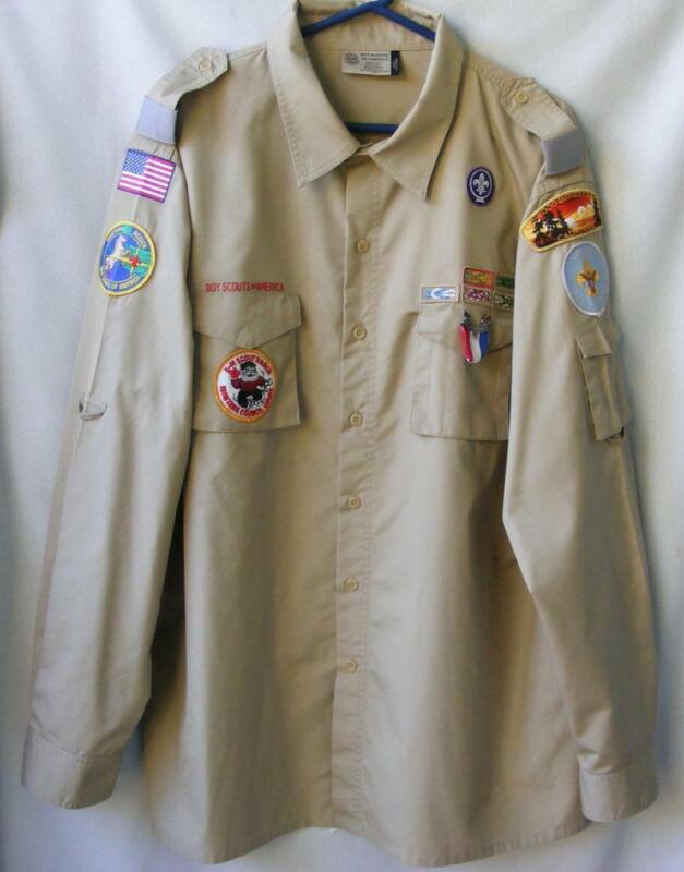 Boy Scouts Past President Shirt Men