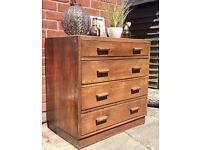 A Fabulous Retro & Rustic Chest of Drawers