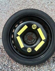 Audi Space Saver Wheel