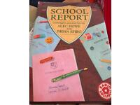SCHOOL REPORT COMPILED BY ALEC HOWE AND BRIAN SPIRO