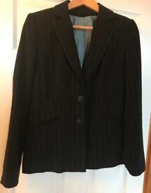 Ladies Pinstripe Suit
