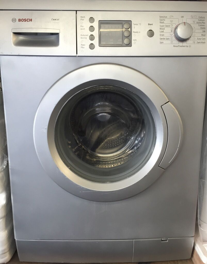 Bosch silver edition washing Machine Manual