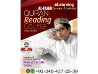 Learn Quran Majeed with Tajweed from us