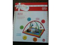 New in box Chad Valley rainbow play gym