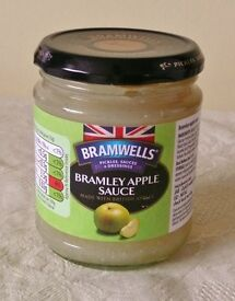 Aldis 270g Jar of Bramwells Bramley Apple Sauce