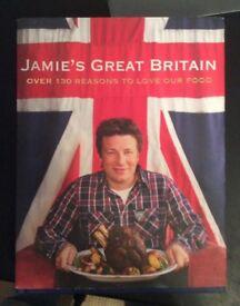 Jamie Oliver Great Britian Cookery Hardback