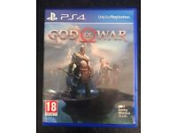 God of War - Sony Playstation 4 Video Game - Amazing PS4 Action Adventure Fantasy - Like New