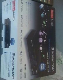 Sagemcom RTI95500 Freeview + HD Digital TV Recorder 500GB